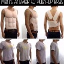 Mens answer to push up bras
