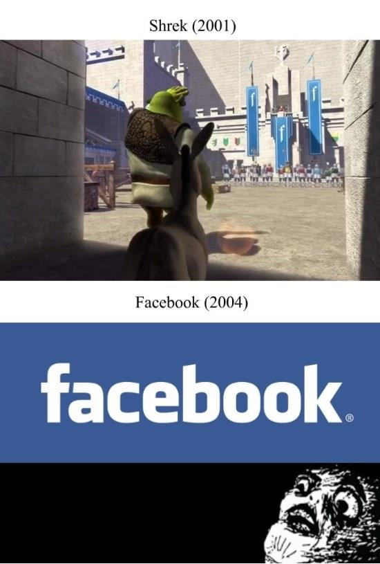 Shrek vs. Facebook