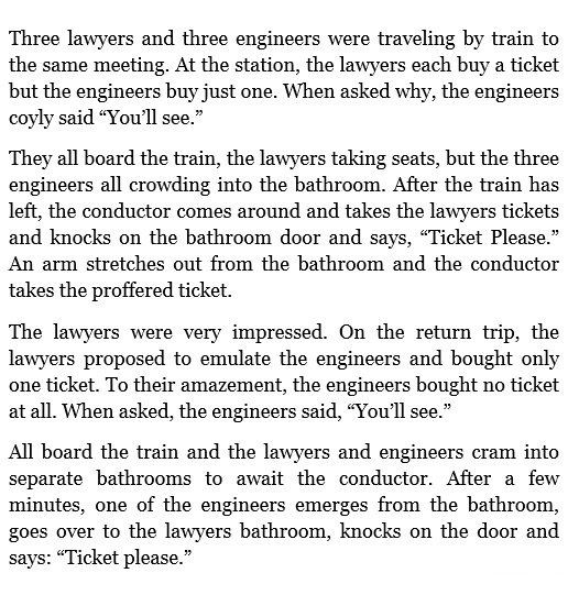 Lawyers and Engineers