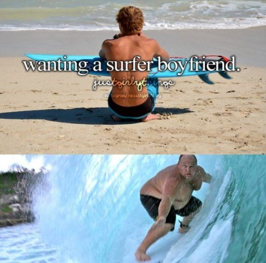 Surfer boyfriend