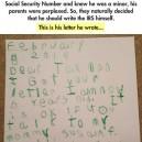 Dear Mr Tax man