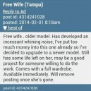Free wife