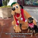He was so proud