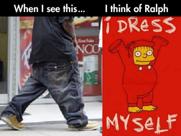 Low pants