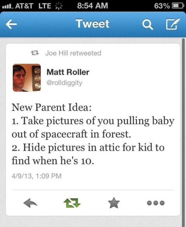 New parent idea
