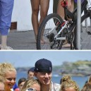The beach with Channing Tatum