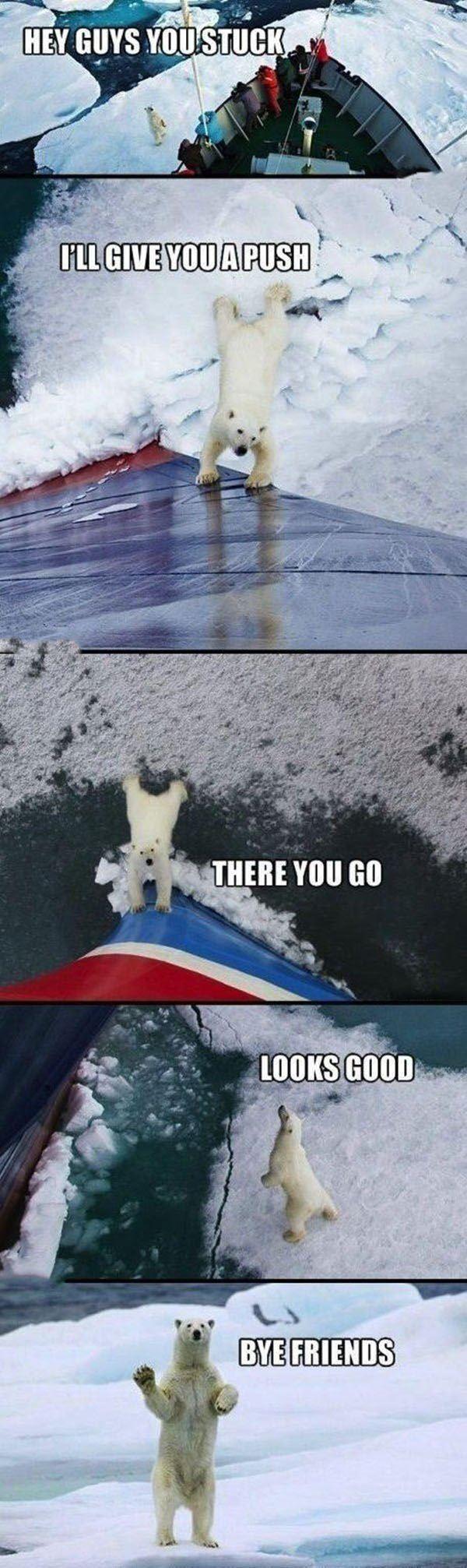 You look stuck