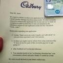 Cadbury Response