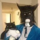 Dressed as Cat