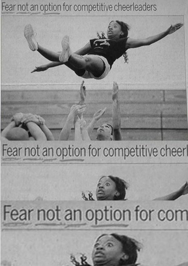 Fear Not an Option