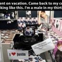Huge Bieber Fan