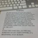 Mac Warning