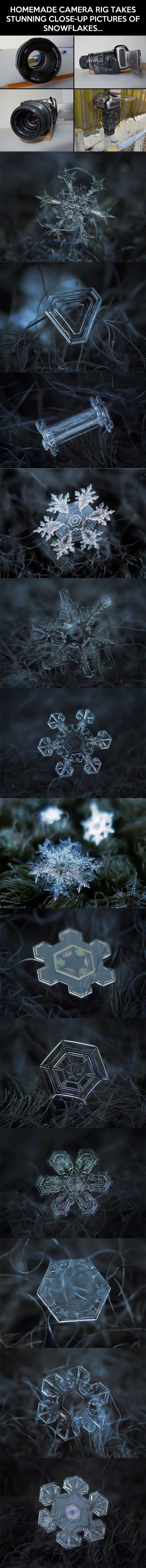 Snowflakes Close up