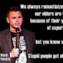 Wise old people