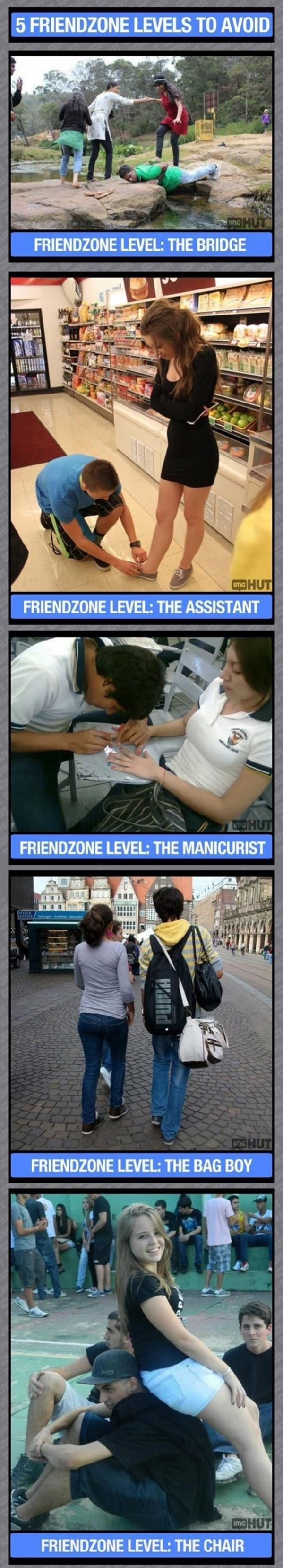 Avoid These Friendzone Levels