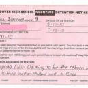 Detention Win