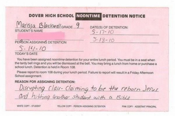 Detention Win