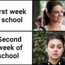 First Week of School