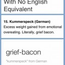 Grief Bacon