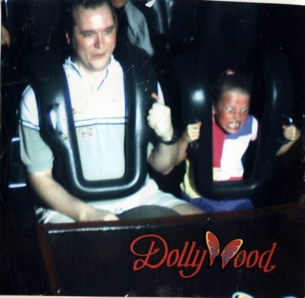 Intense roller coaster