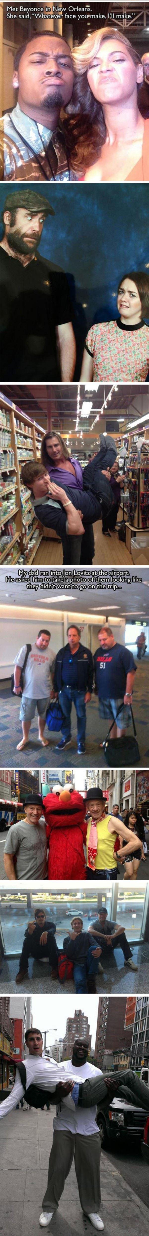 Meeting Celebrities