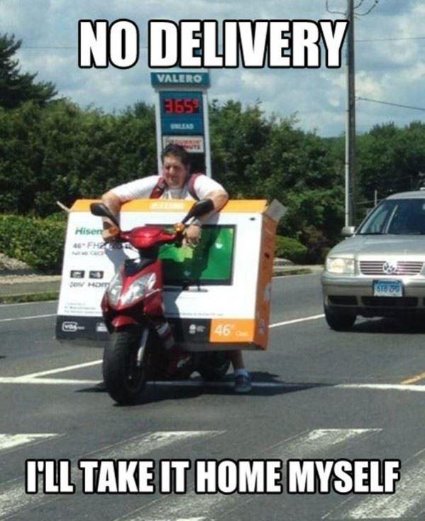 No Delivery