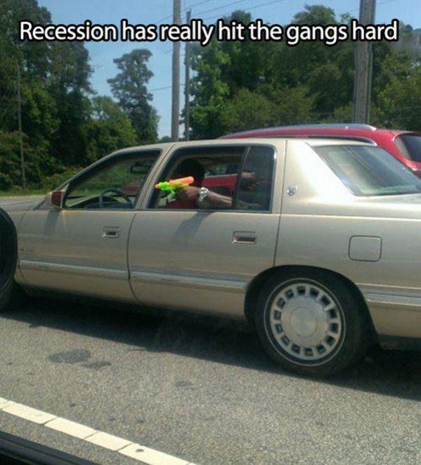 The Tough Recession