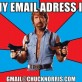 Chuck Norris Email