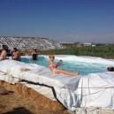 Cool farm pool