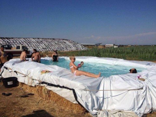 Cool farm pool