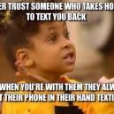 Don't trust them