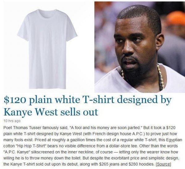 Kanye Tshirts