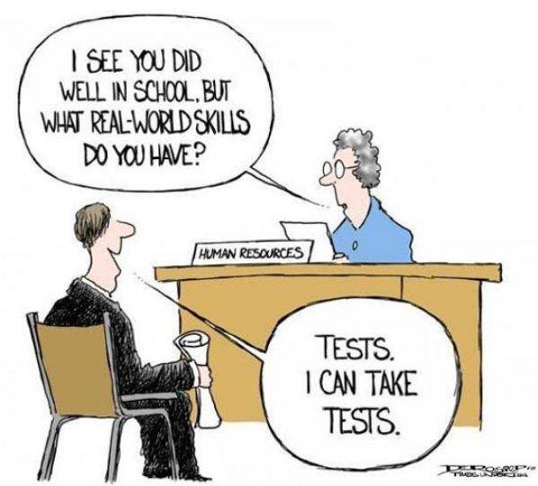 School prepares you
