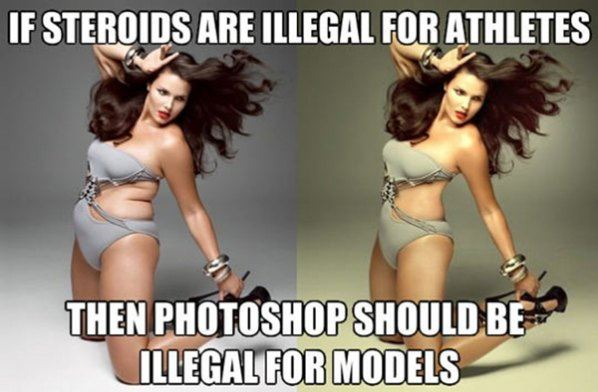 Steroids for models