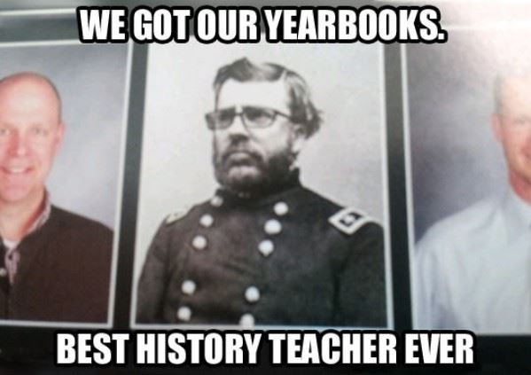 The Best History Teacher Ever