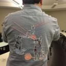 Amazing lazer cat shirt