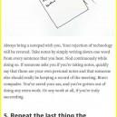 Appear Smart In Meetings