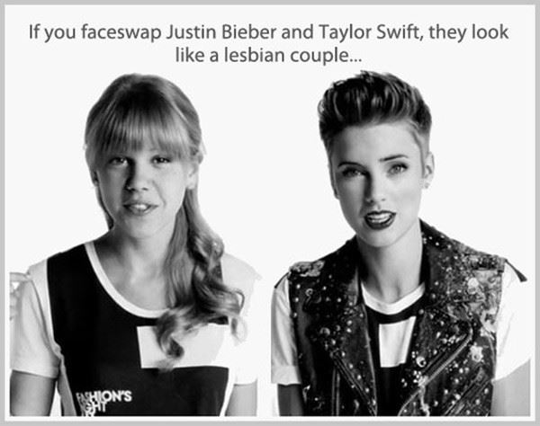 Bieber and Swift