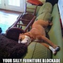 Furniture Blockade