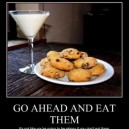 Go ahead and eat them