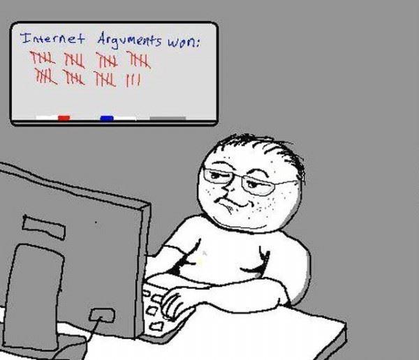 Internet arguments