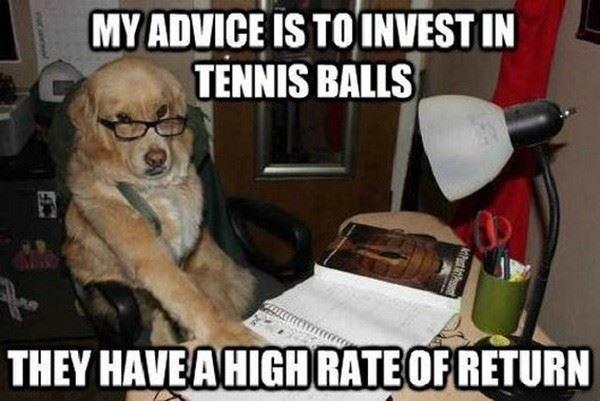 Invest in tennis balls