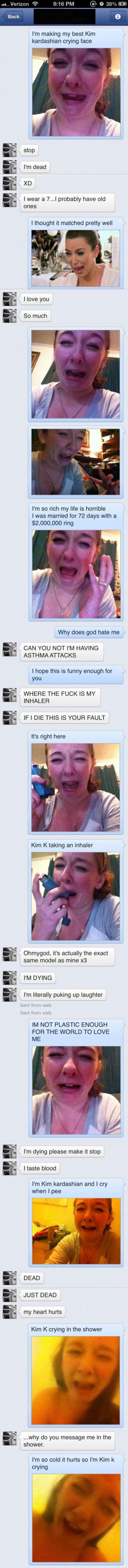 Kim K Impressions
