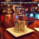 Leaving Tip
