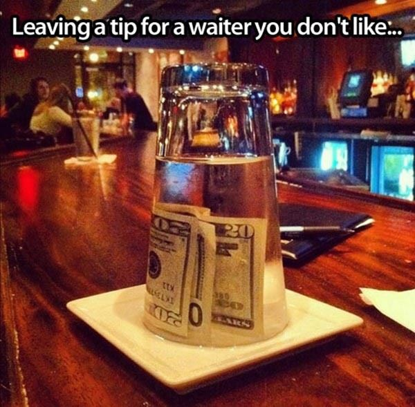 Leaving Tip
