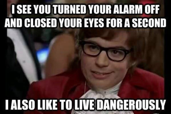 Living Dangerously