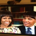 Obama with bangs