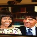 Obama with bangs