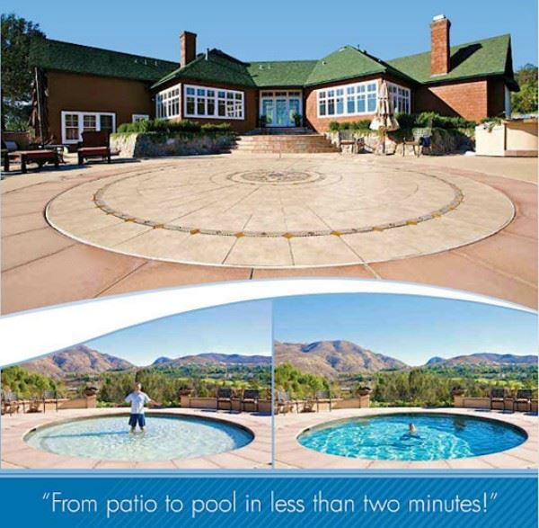 Patio To Pool