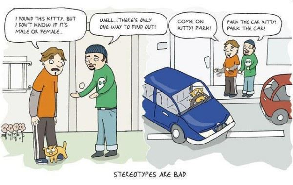 Stereotypes are bad